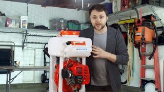 Мотоопрыскиватель FORTE 3WF-650 от компании electro-instrument - видео