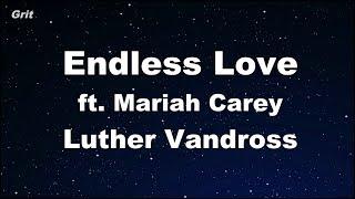 Endless Love ft. Mariah Carey - Luther Vandross Karaoke 【No Guide Melody】 Instrumental