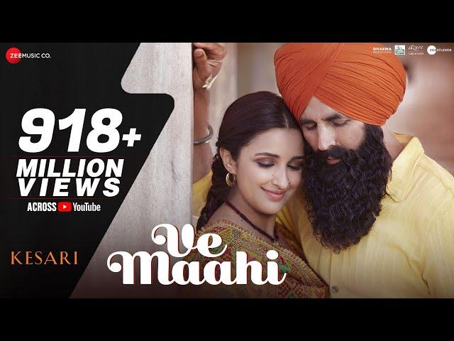 Maahi Ve  Lyrics - Arijit Singh & Asees Kaur _Kesari