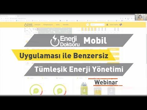 ENTES Webinar: Enerji Doktoru Mobil Uygulaması ile Benzersiz Tümleşik Enerji Yönetimi