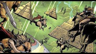 Asgard vs Greek, Egyptian, Hindu and Nahual Gods - God is Dead