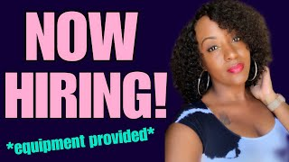 New Chat Work From Home Job Available Today,  Equipment Provided!
