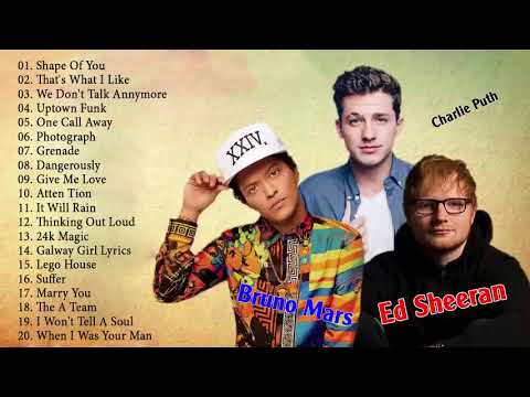 Boyce Avenue, Ed Sheeran, Charlie Puth, Bruno Mars Greatest Hits Collection || Best Pop Songs 2018