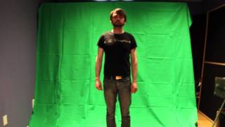 """""""I've Only Got Myself To Blame"""" Green Screen Test"""