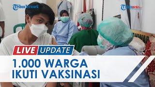 Kebut Vaksinasi di Kabupaten Bogor, 1.000 Lebih Warga di Desa Cimanggis Terima Dosis Pertama