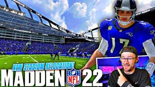 I Built a New Stadium in Madden 22