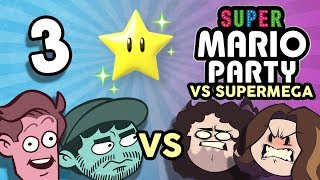 Super Mario Party VS SuperMega: Brain No Work - PART 3  - Game Grumps VS