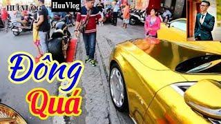 PHÚC XO Đem Xe Mô Tô Vàng Ra Chơi Nổi | Hữu Vlog | Dấu Chân Sài Gòn