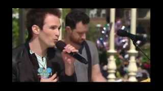 """Chris Wallace - Remember When (Push Rewind)""""Live with Kelly and Michael"""" at Disney Wolrd  HD"""