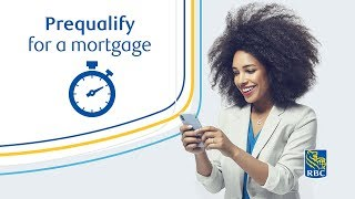Prequalify for an RBC® mortgage in 60 seconds.¹