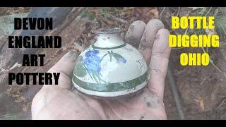 Bottle Digging - Devon Art Pottery England - Toy Marbles - Antique Restoration - History Channel
