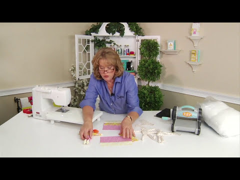 From the Sizzix Quilting Workshop: How to Create a Doll Two Different Ways