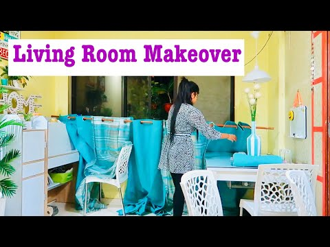 Giving Makeover to my Living Room   Changing Living Room Decoration