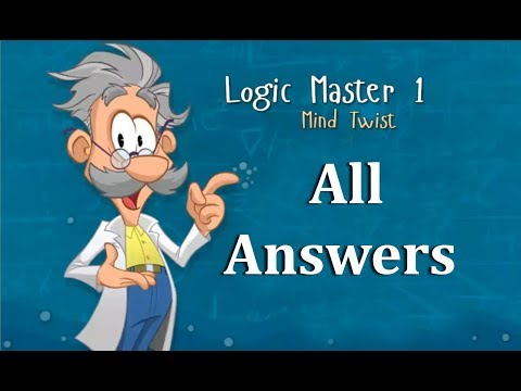 Logic Master 1 Mind Twist All Answers P1 of 3