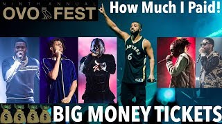Rumoured Rappers To Perform At OVO FEST 2019 On August 5th, Fans Mad At Ticket Prices
