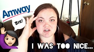 I Quit My MLM - UNCUT Final Phone Call With My Amway Upline   Anti-MLM