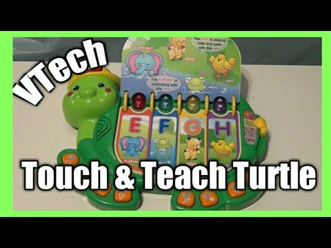VTech Touch and Teach Turtle Book - 12-24 Month Toy Idea - Birthday Toy