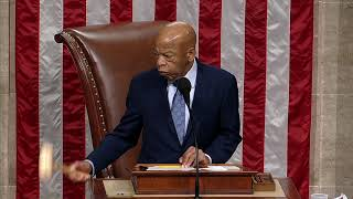Rep. John Lewis Gavels Vote on Voting Rights Advancement Act
