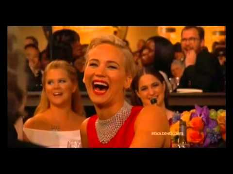 Ricky Gervais at the Golden Globes 2016 - All of his bits chained