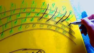 СХЕМА.Как правильно соблюдать Ресничные ряды и плавный переход длин в наращивании ресниц?How to