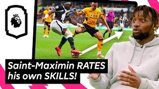 Allan Saint-Maximin REACTS to his GREATEST SKILLS | Uncut