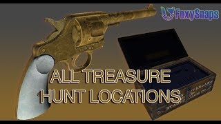 GTA 5 GUIDE: ALL 20 LOCATIONS FOR THE RDR2 DOUBLE ACTION REVOLVER TREASURE HUNT GTA ONLINE