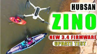 First Break Hubsan Zino FPV 3.4 New Firmware Review in 1080P@60fps