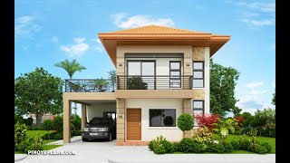 10 Beautiful Two   Story House Plan From Pnoy E Plans