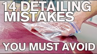 14 BAD Detailing Mistakes You Must Avoid: ATA 106