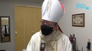 O bispo de Limeira celebrou sua primeira missa na cidade de Porto Ferreira