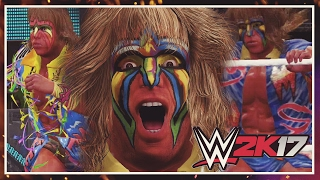 WWE 2K17 Creations: Ultimate Warrior Attire Pack (Xbox One)
