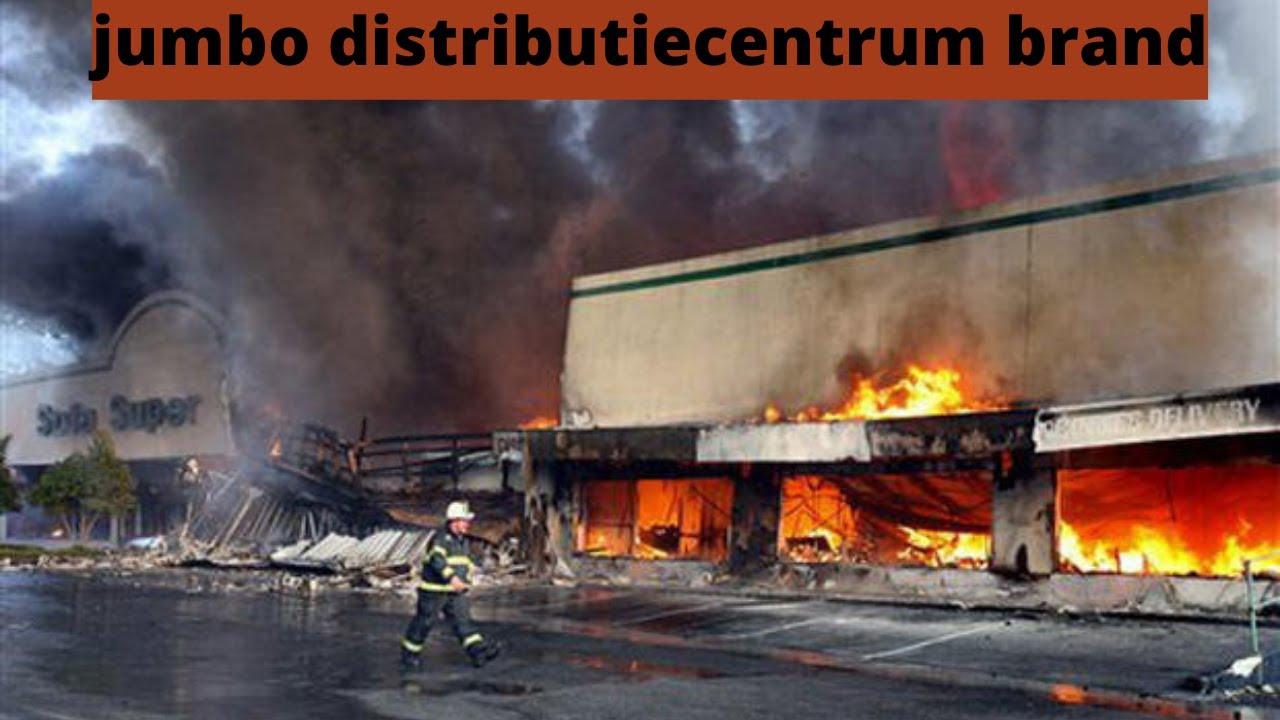 jumbo distributiecentrum brand   Jumbo distributiecentrum in de Raalte almelosestraat ontruimd