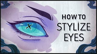 How To Draw Eyes In Your Own Style •  Eye Tutorial