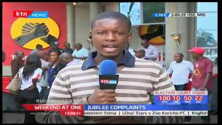 Aspirants at Jubilee party headquarter to protest massive irregularities during primaries