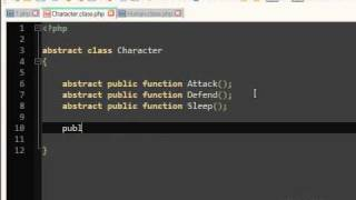PHP Abstract Classes Tutorial OOP | 7