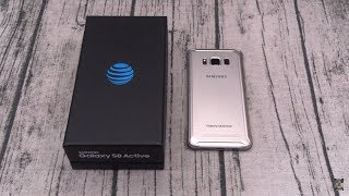 Samsung Galaxy S8 Active Unboxing And First Impressions