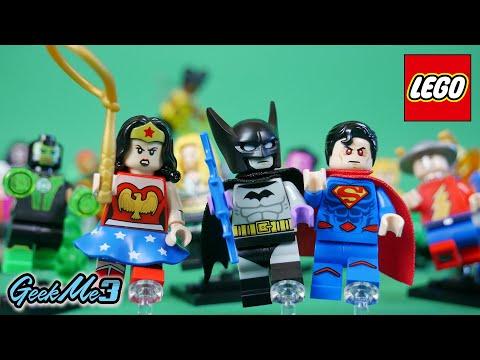 Vidéo LEGO Minifigures 71026 : Série DC Super Heroes