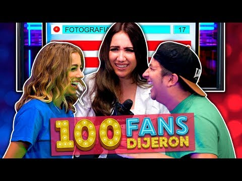 100 Fans Dijeron Ep.14 | YouTubers Nuevos VS YouTubers Viejos