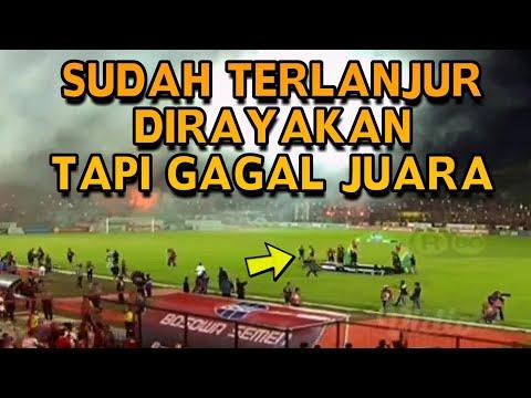 Lihat Perayaan Kekecewaan di Stadion Mattoanging Usai PSM Makassar Gagal Juara Liga 1 2018