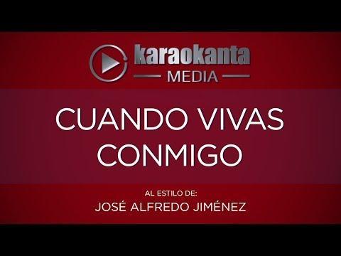 Cuando vivas conmigo Jose Alfredo Jimenez