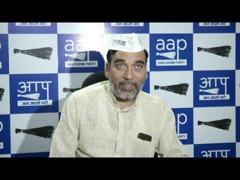 AAP Delhi Convenor Gopal Rai Briefs on The Congress Manifesto