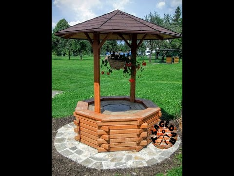 Okrasná studna / DIY  Wishing Well