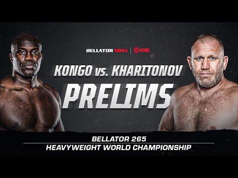 Bellator 265: Харитонов vs. Конго – Prelims Video