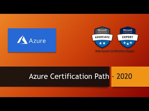 Azure Certification Path - 2020 - YouTube