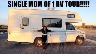 MY 1994 MINNIE WINNIE RV TOUR!!!! (before renovation)