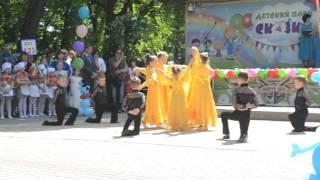 Мои ребята выступают на балу выпускников детских садов г. Липецка