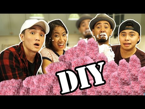 CAN WE DIY?! | FLOAM (ft Greg and Daina)