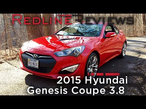 2015 Hyundai Genesis Coupe 3.8 – Redline: Review