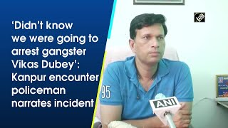 Did ntt know we were going to arrest gangster Vikas Dubey: Policeman narrates incident