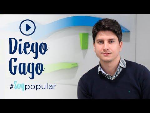 Diego Gago se une a la campaña #SoyPopular